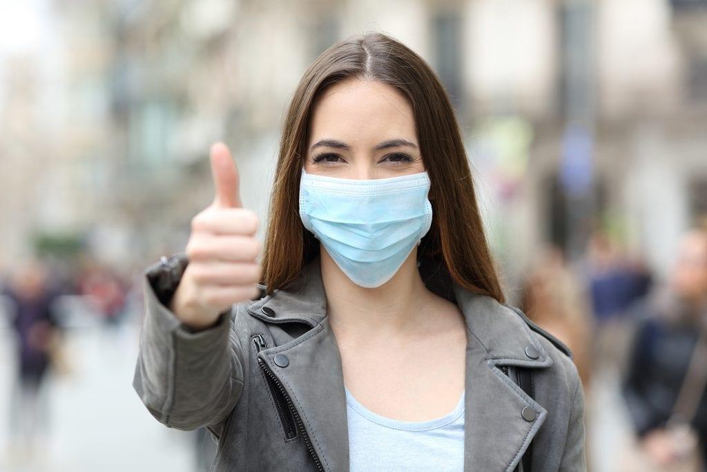 Positive News Mask