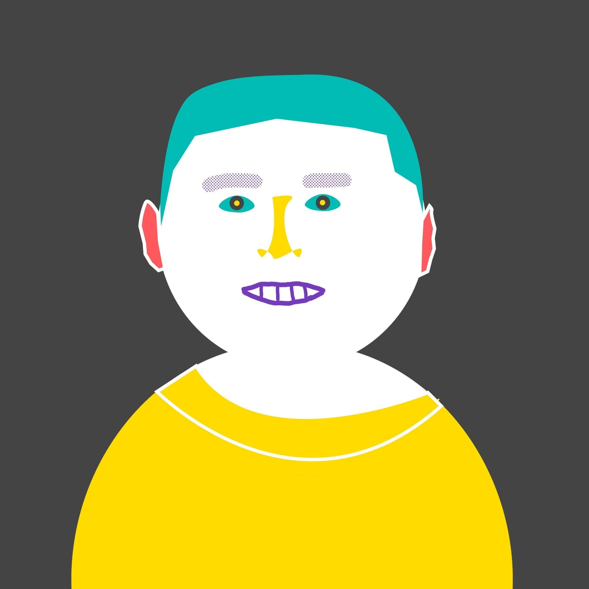 Luchko drawn headshot