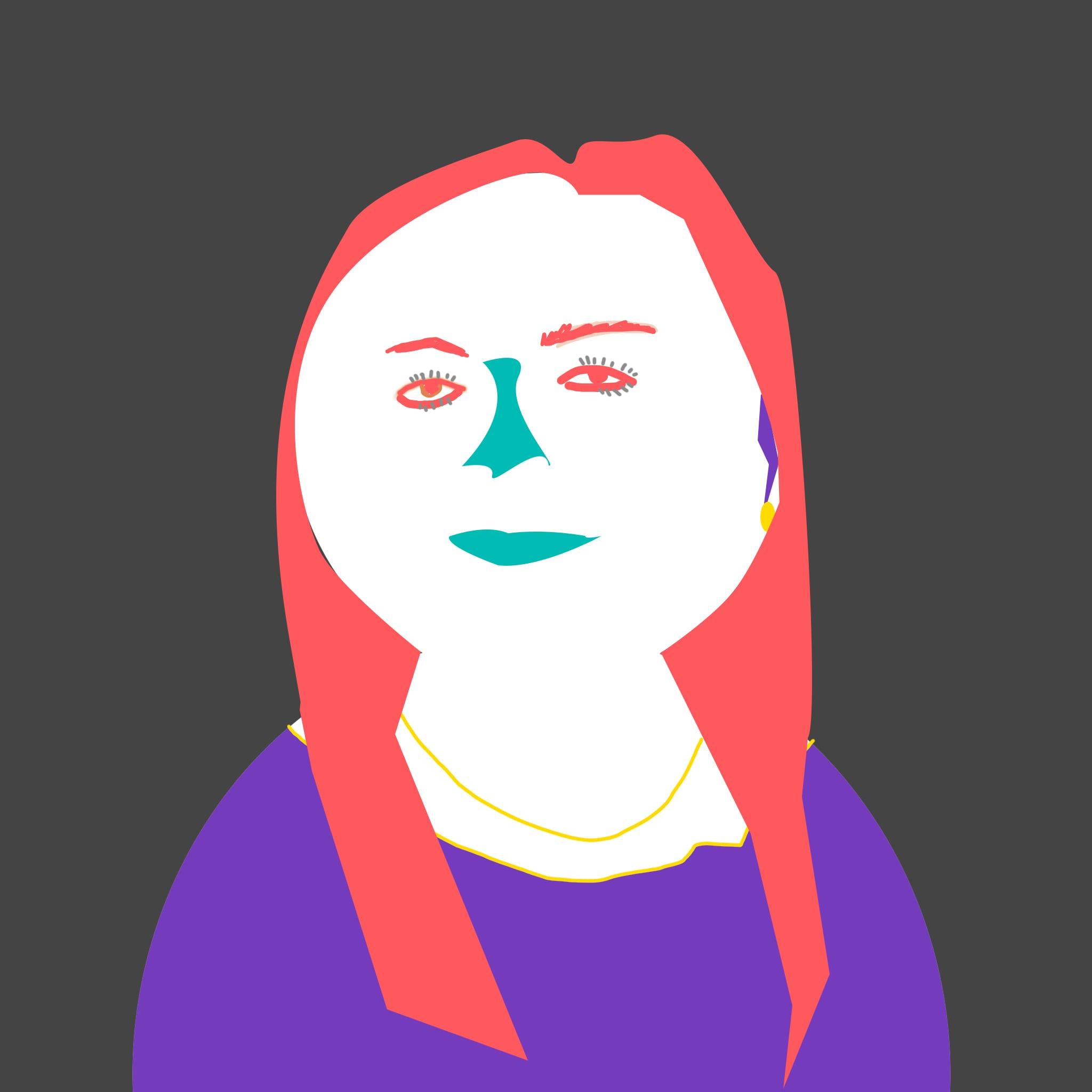 Yulia drawn headshot