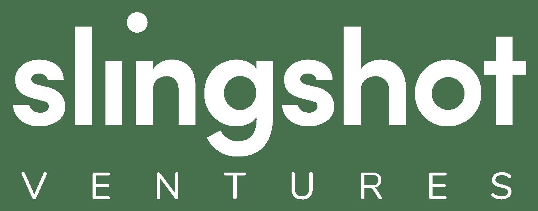 slingshot ventures white logo