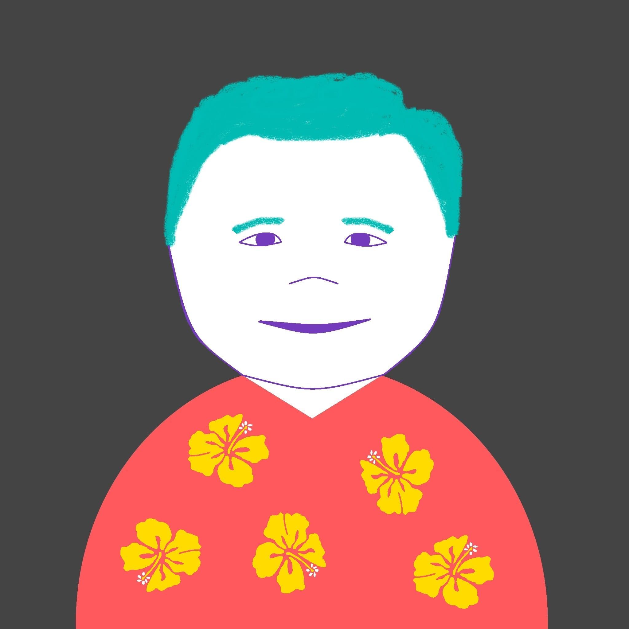 Dan Harrigan - Headshot Drawn
