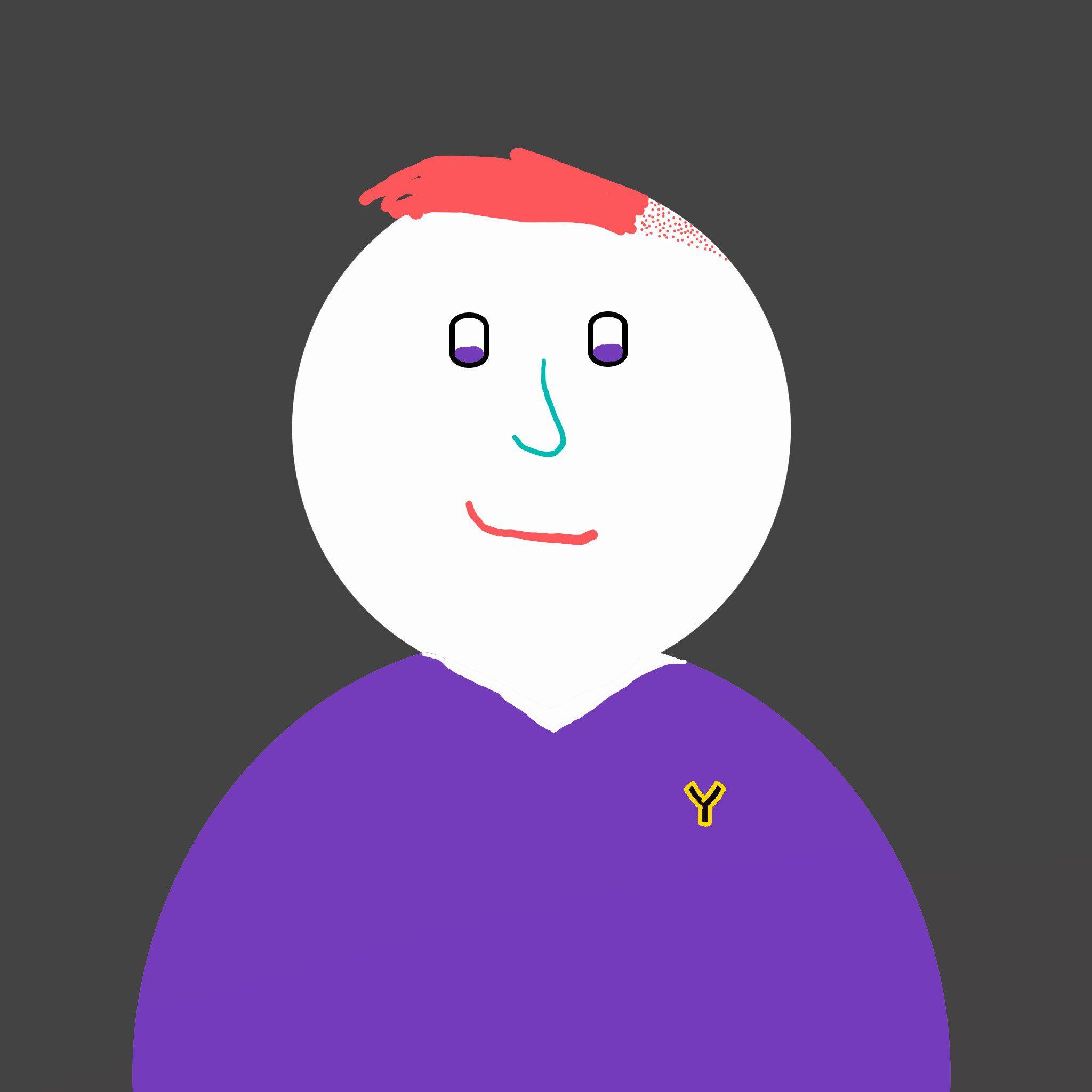 John Tito Drawn Headshot